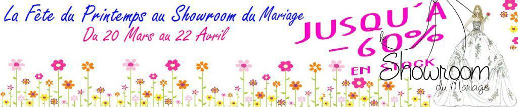 Le Printemps au Showroom du Mariage