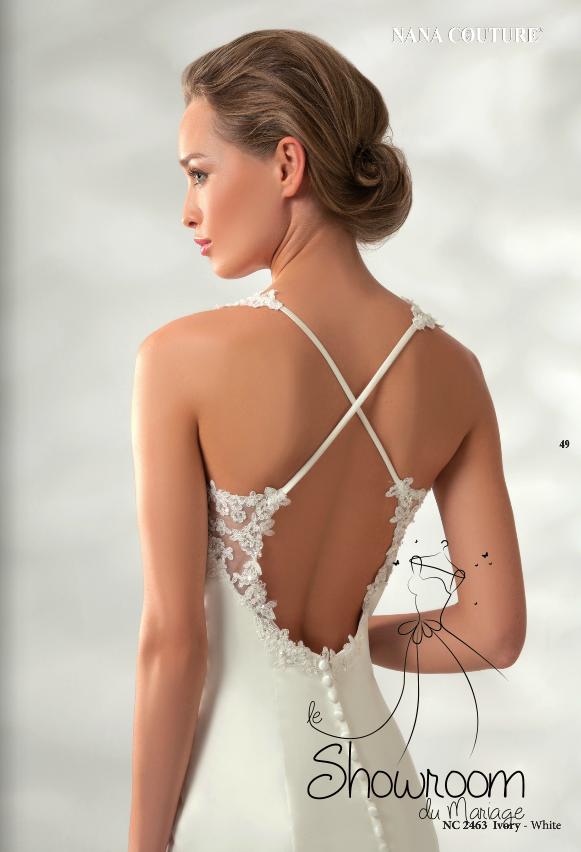 Robes de mariée 2463 en stock uniquement
