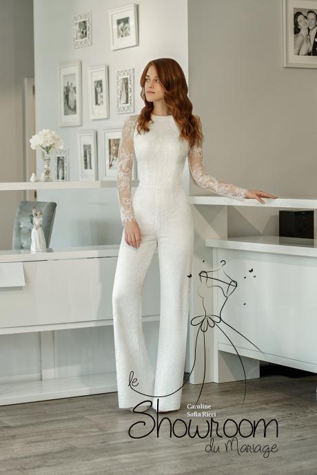 Robes de mariée Caroline en stock uniquement