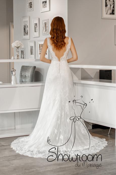 Robes de mariée Domia en stock uniquement