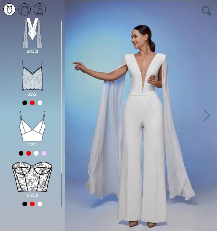 Robes de mariée Sur Mesure Mix&Match