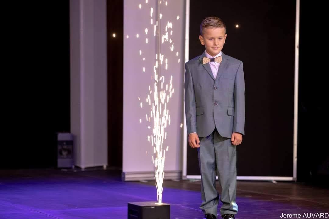 Homme Grasse Costume Enfant